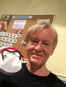 John Stoltenberg & puppet